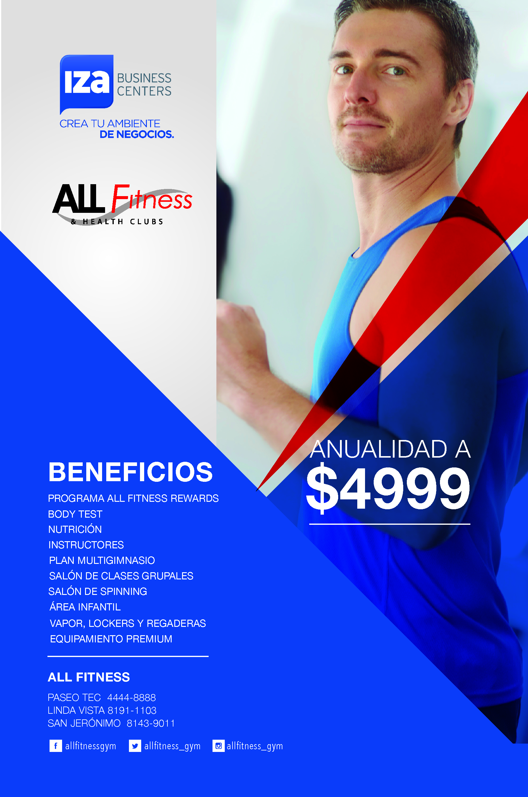 All Fitness beneficios cliente IZA BC -1
