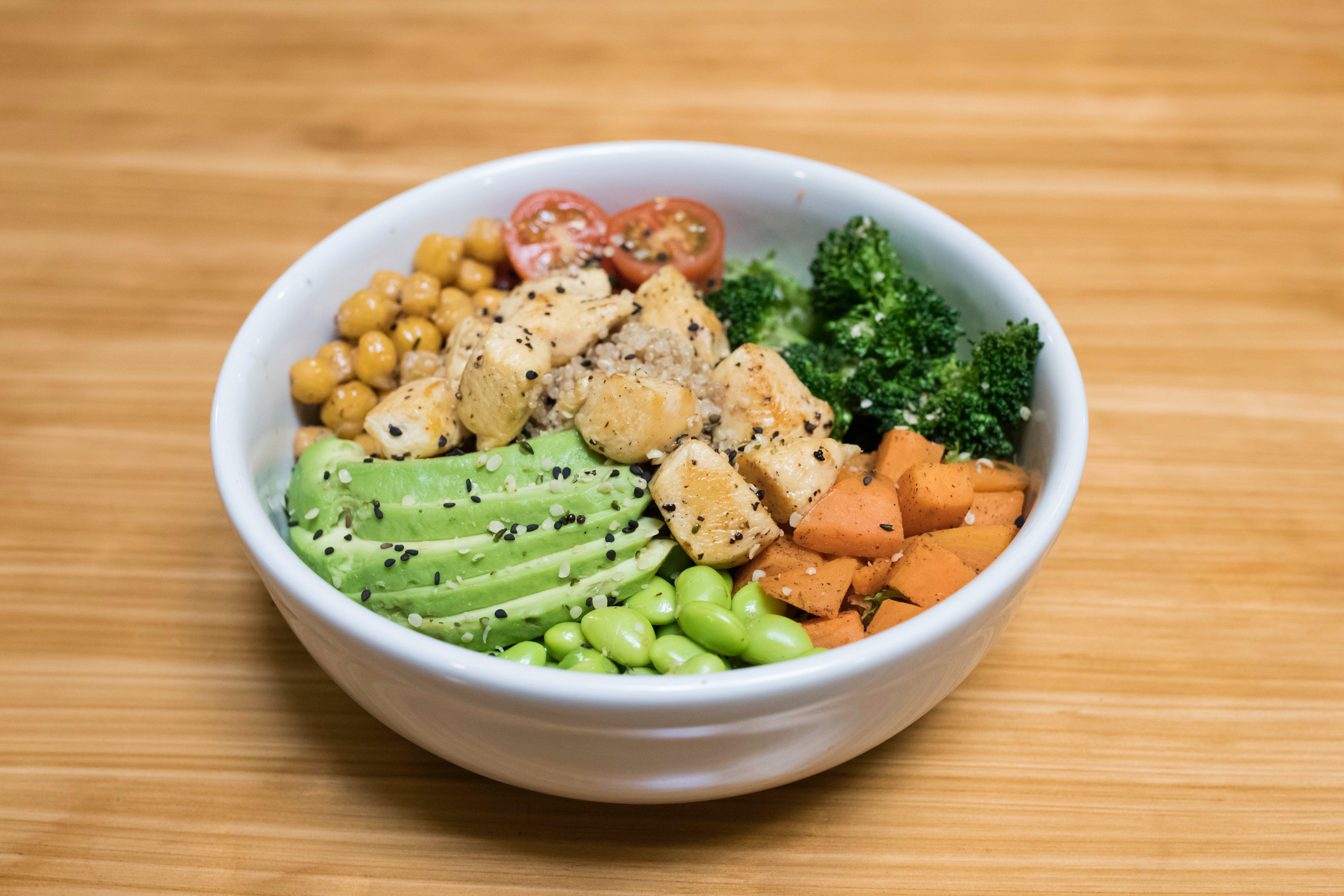 Buddah Bowl de Pollo