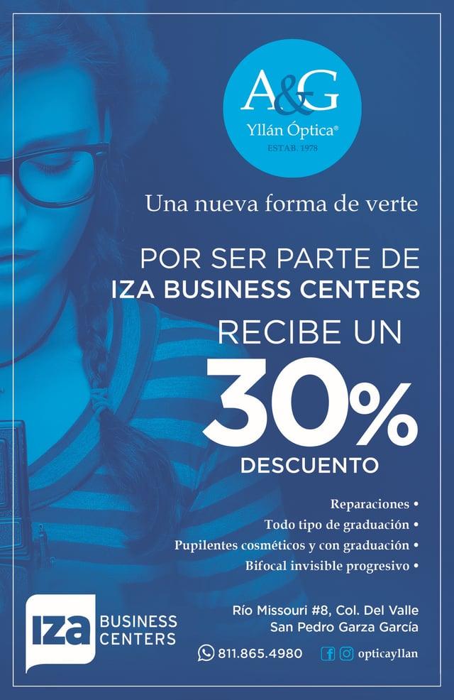 Descuento para oficinas en Monterrey IZA BC