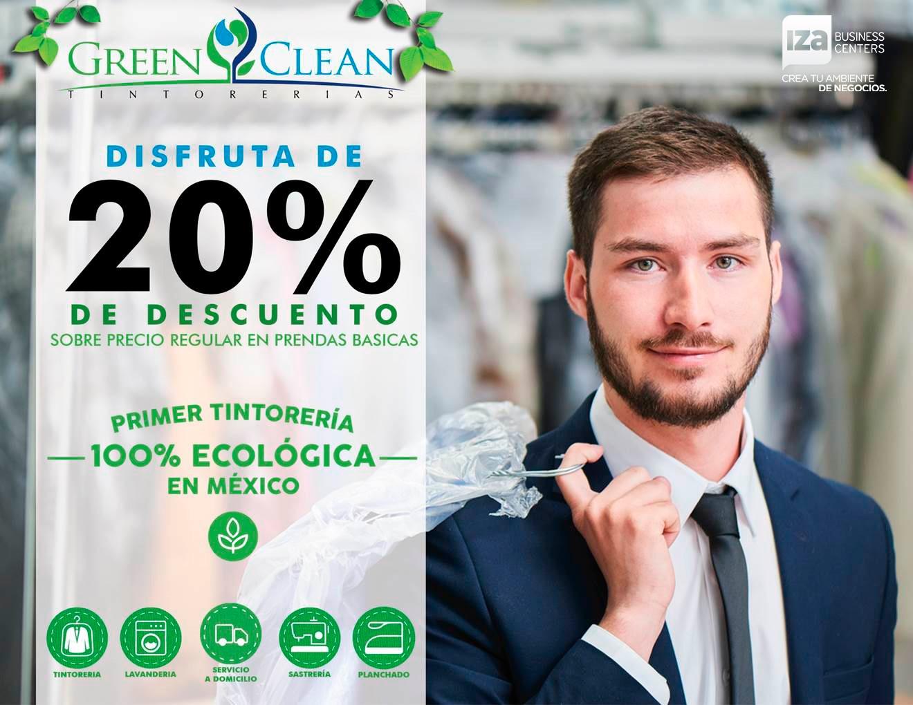 Green Clean Convenio IZA BC MTY