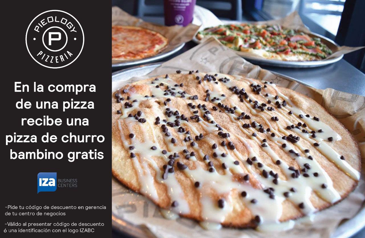 Pizza Churro gratis