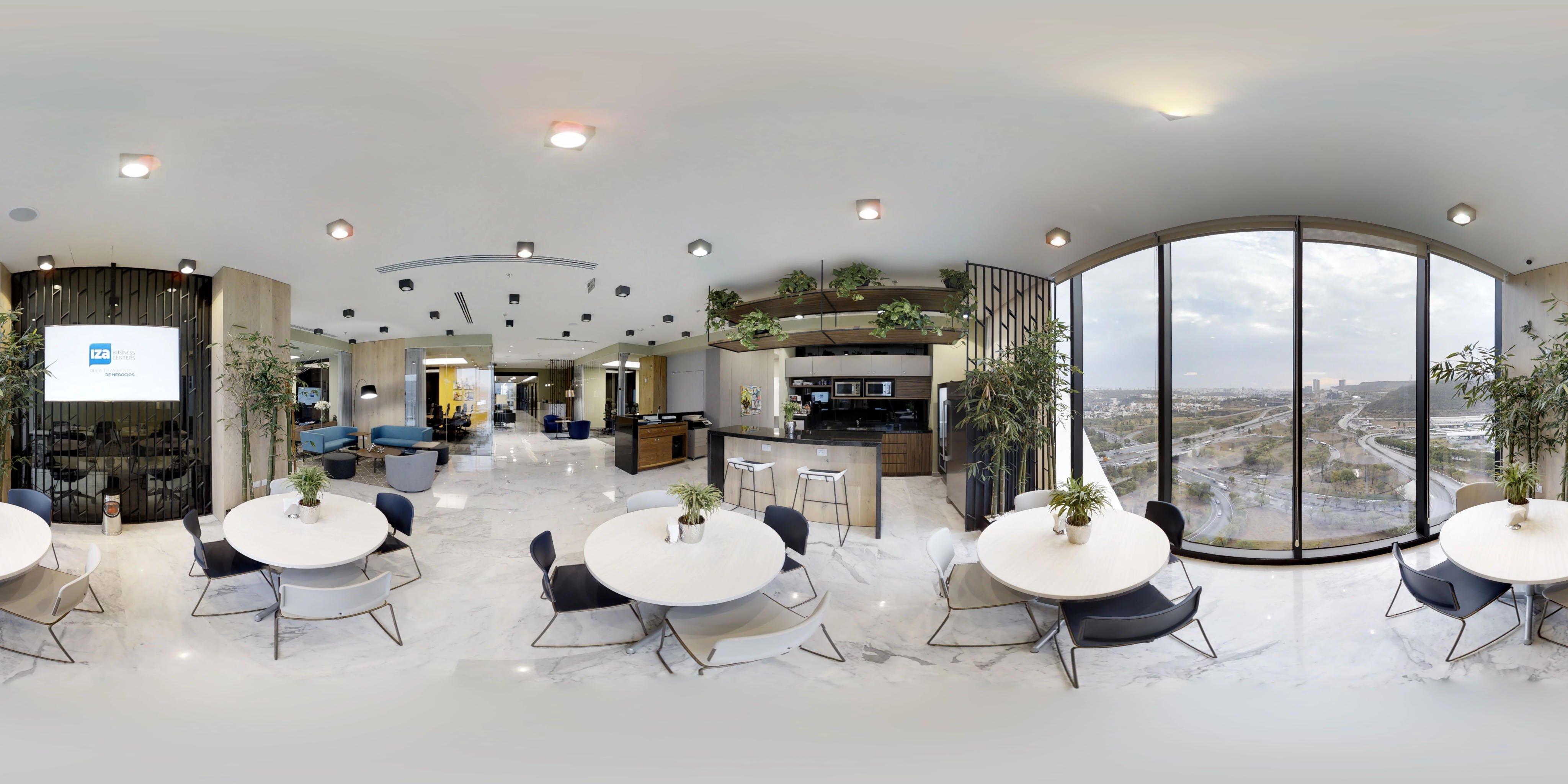 Cafeteria Oficina Queretaro IZA Businenss Centers Torre 57