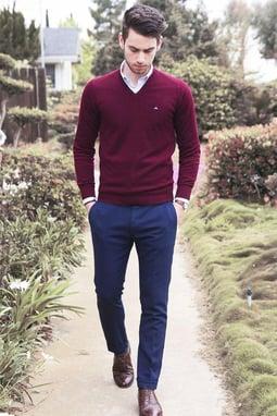 vestimenta business casual hombre 1