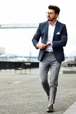 vestimenta business casual hombre 2